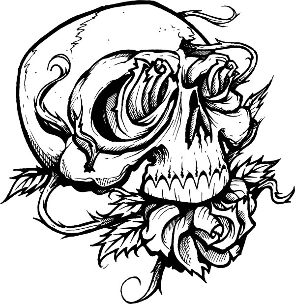 skulls coloring pages # 11