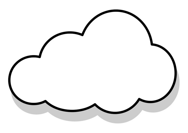 clouds coloring pages for preschool coloring pages