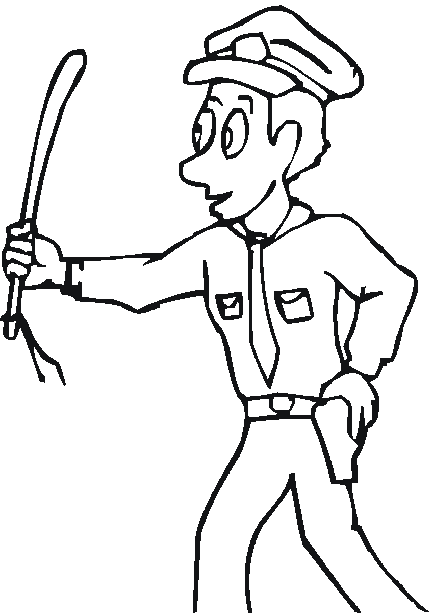 Preschool Community Helpers Coloring Pages - Coloring Home | 1200x849