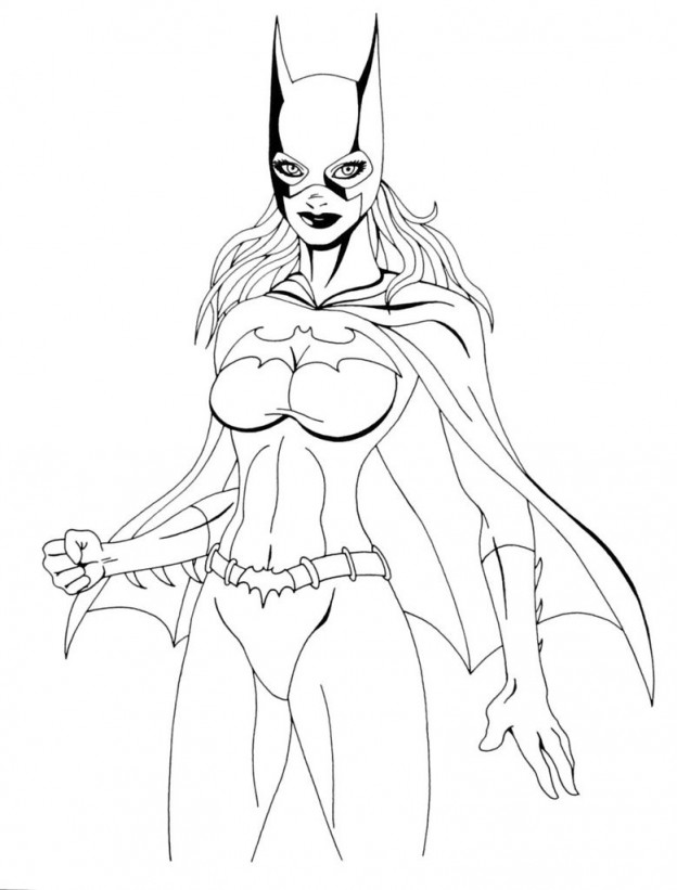 39 Best Batgirl Coloring Pages images | Batgirl, Coloring pages ... | 821x624