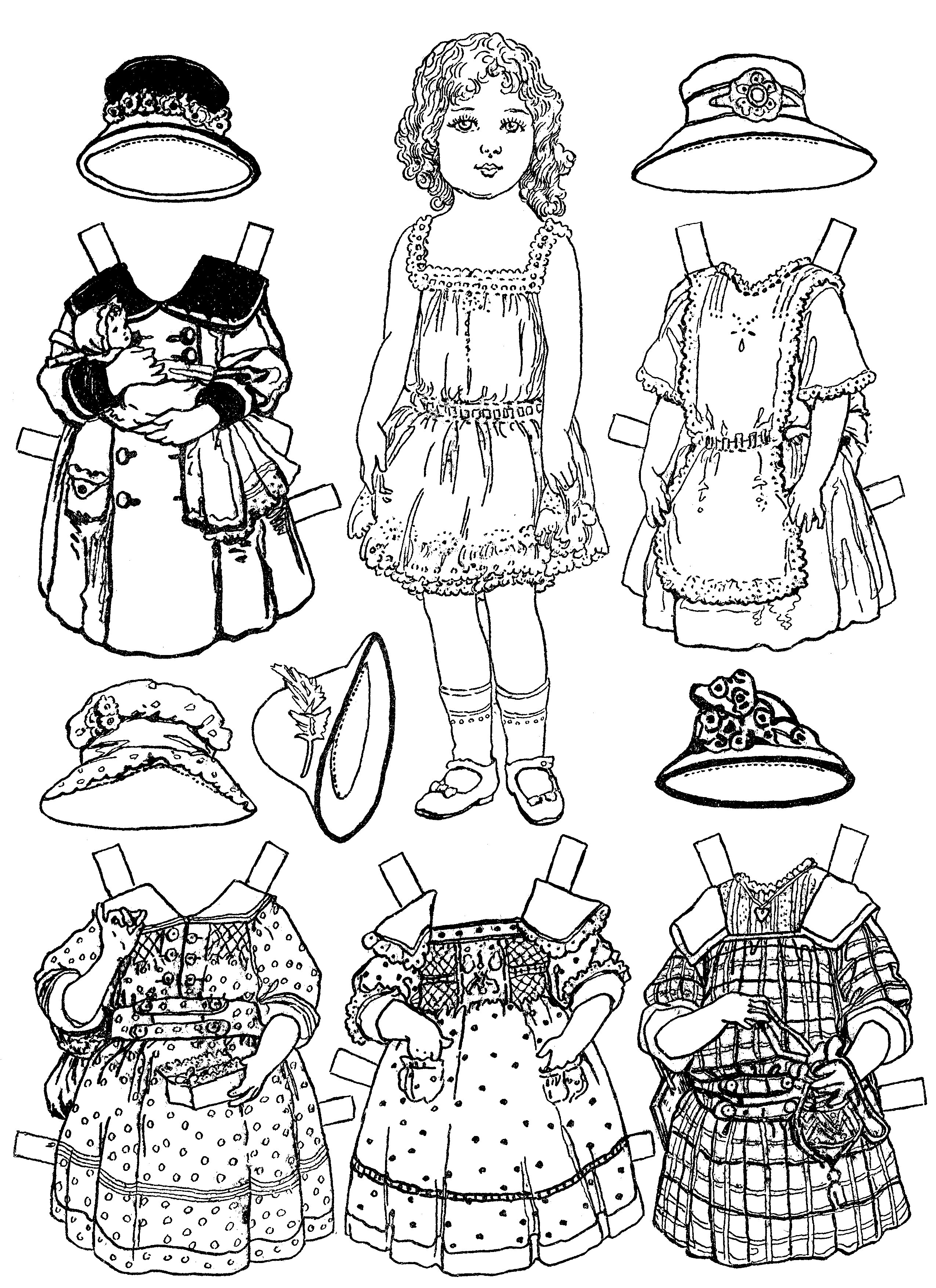 Shoppies Dolls Coloring Pages Coloring Coloring Pages