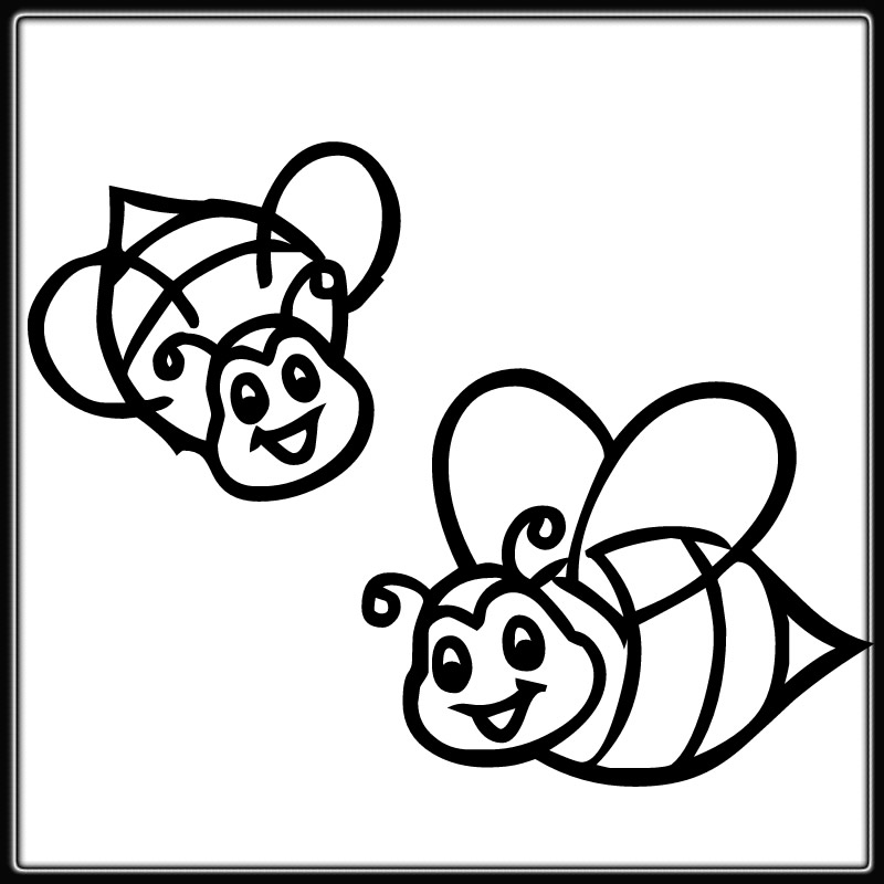 bumble bee colouring pages page 3