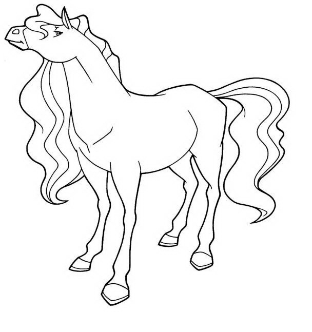 free printable horseland coloring pages for kids