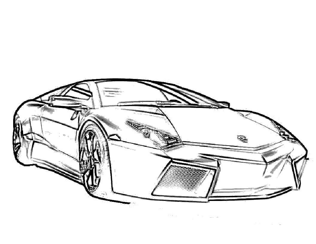 Lamborghini Veneno Coloring Pages Lamborghini Sesto