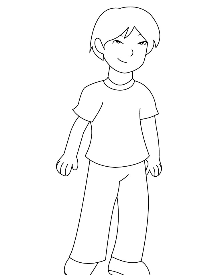 boy coloring page laà os colouring pages 2 16 week ultrasound