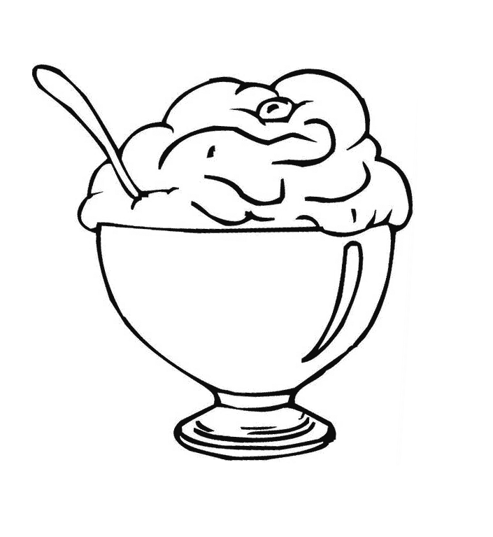 Ice Cream Coloring Games Other Printable Sundae Rhankeomxtl: Ice Cream Coloring Pages To Print Free At Baymontmadison.com