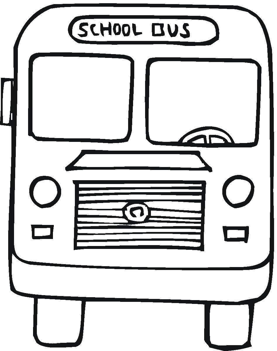 free printable school bus coloring pages for kids