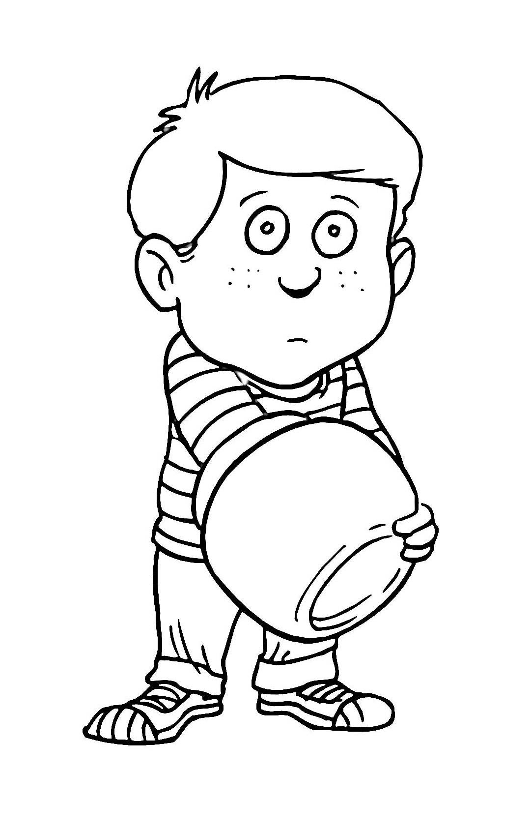Free Printable Boy Coloring Pages For Kids | colouring pages for toddlers