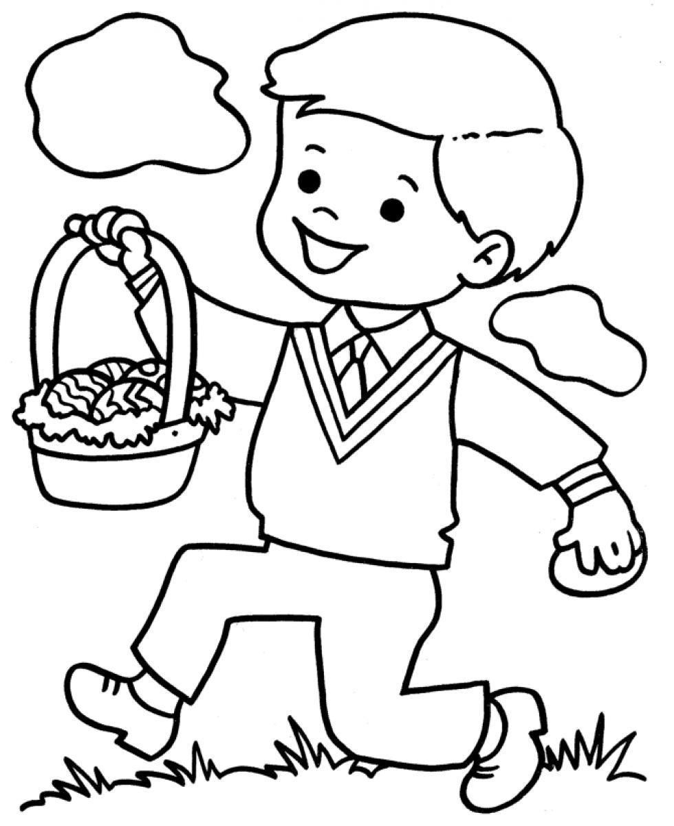 free printable boy coloring pages for kids - Boys Coloring Page