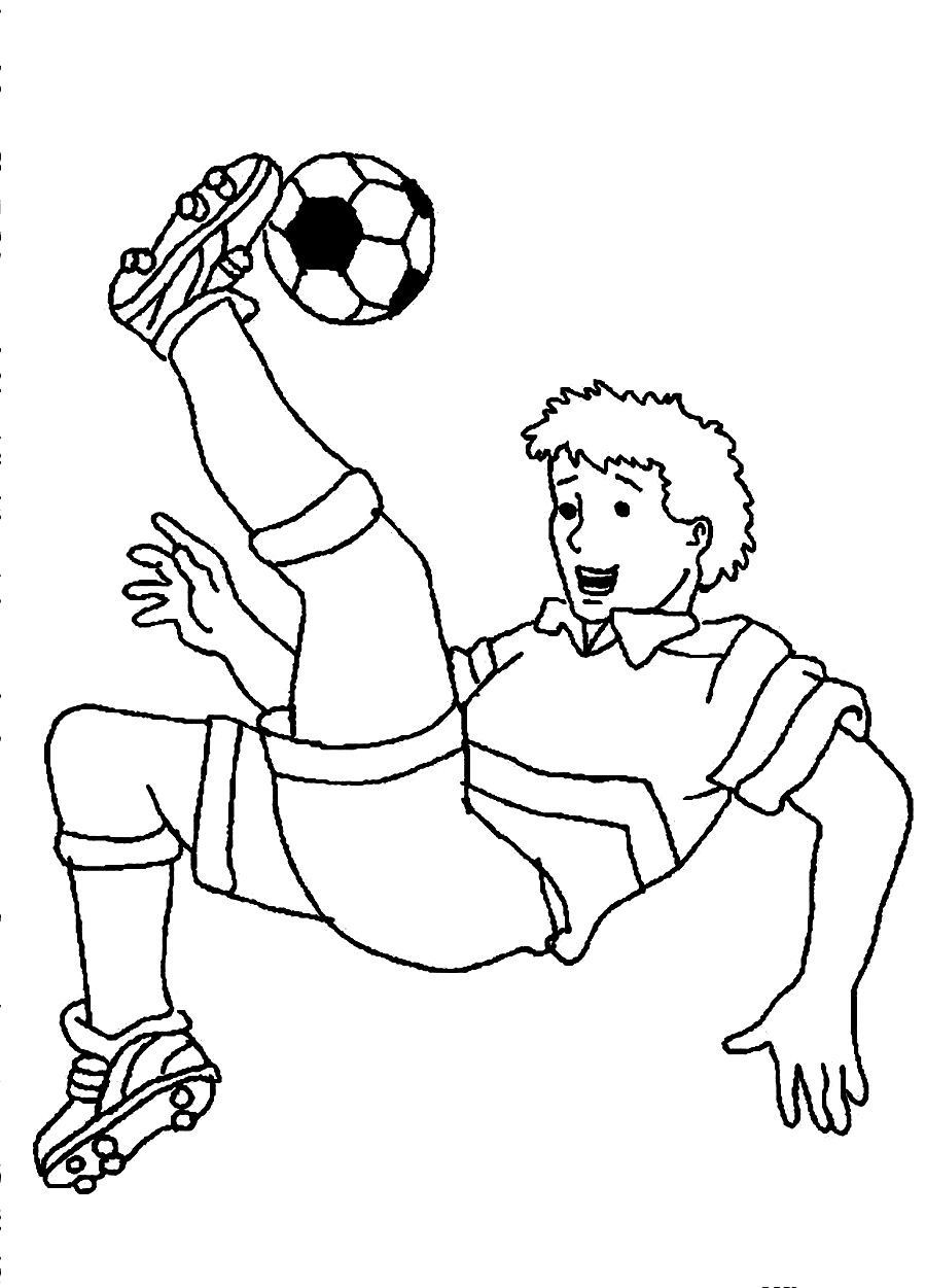 Soccer Coloring Page Free Coloring Pages Download | Xsibe alex ...