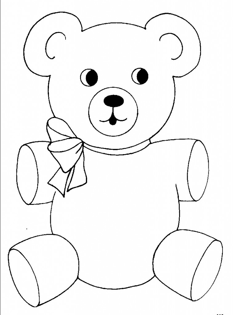 teddy bear coloring page free printable teddy bear coloring pages for