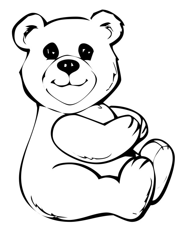 coloring pages of bears # 3