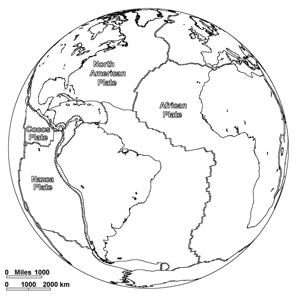 Free Printable World Map Coloring Pages For Kids