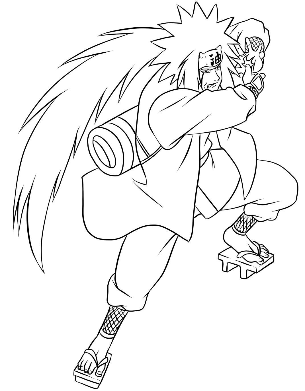 Top 25 Free Printable Naruto Coloring Pages Online | Coloring ... | 1374x1071