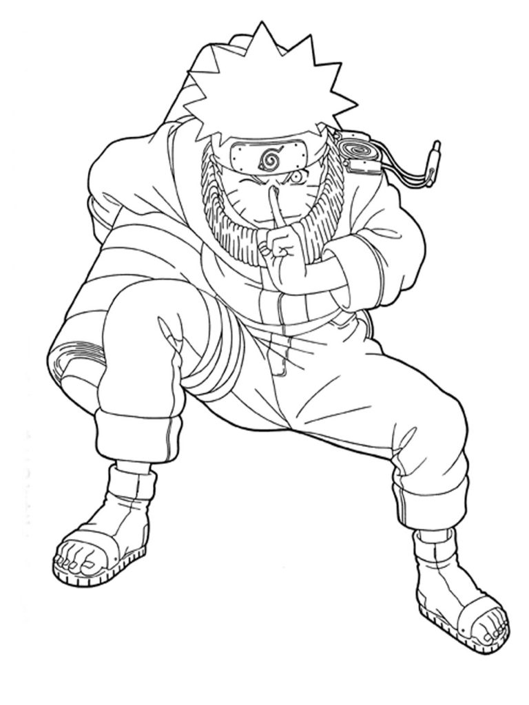 Free Printable Naruto Coloring Pages For Kids