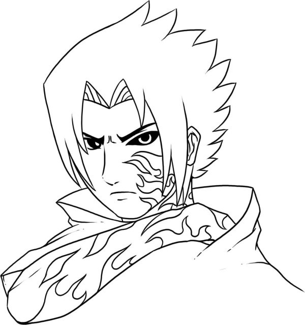 naruto shippuden coloring pages # 7