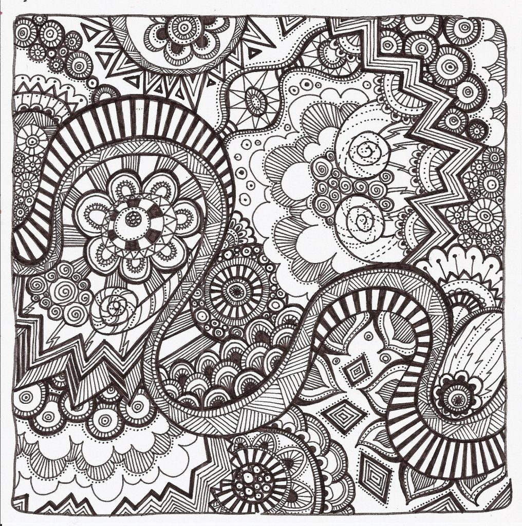 Free Adult Coloring Pages 35 Gorgeous Printable To Rhtealnotes: Easy Zen Coloring Pages At Baymontmadison.com