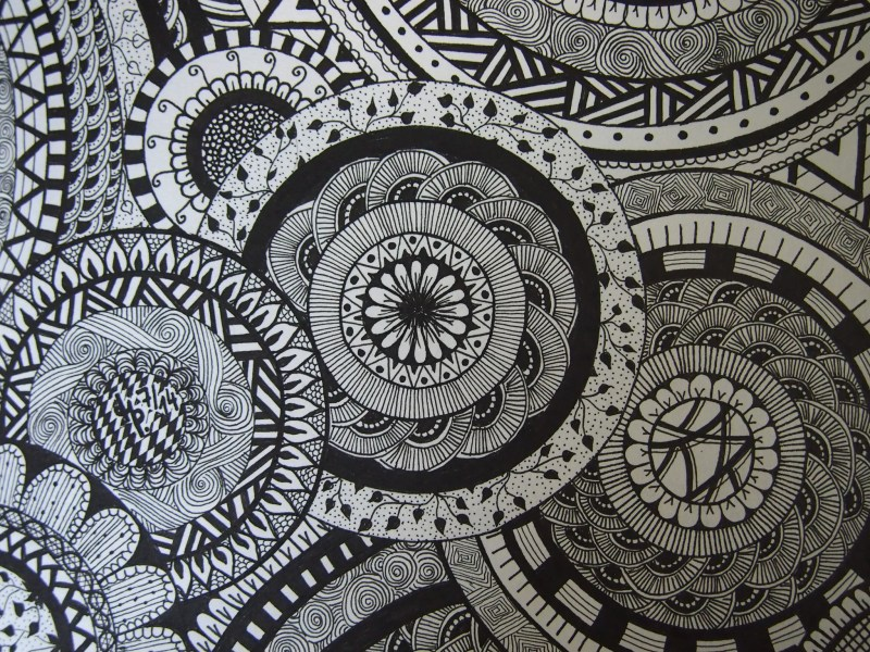Free Printable Zentangle Coloring Pages For Adults Zendoodle