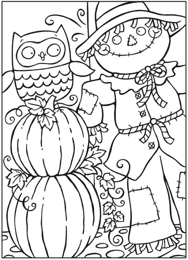 free fall coloring pages printable # 4
