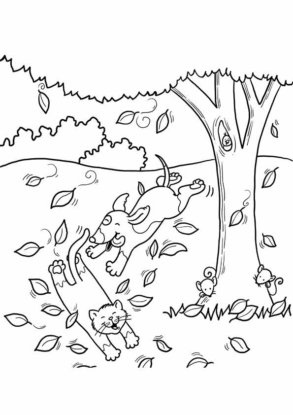 free printable fall coloring pages for kids best coloring pages for