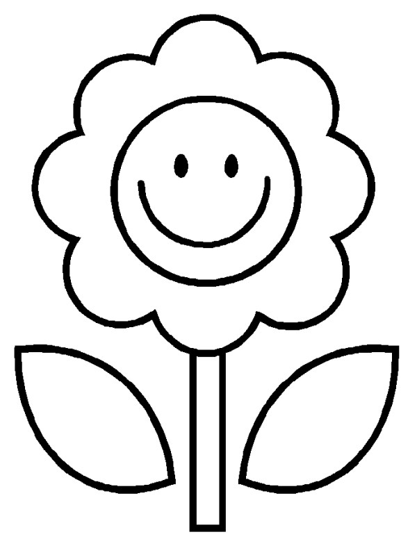 coloring pages flower # 60