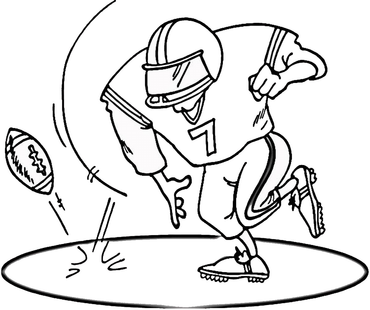 free printable football coloring pages for kids best coloring