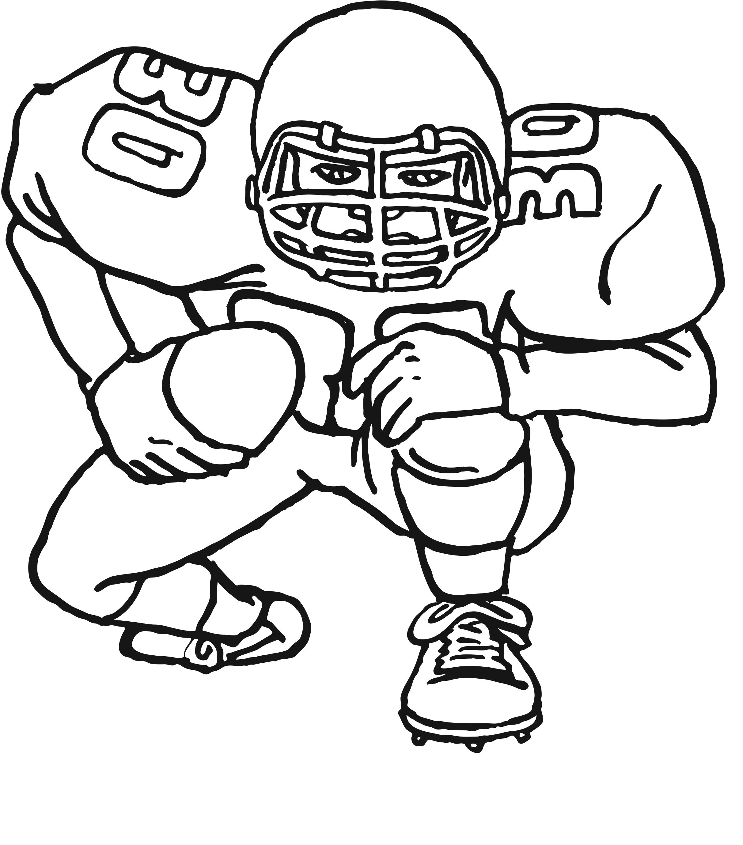 Free Printable Football Coloring Pages For Kids Best Coloring Pages For Kids