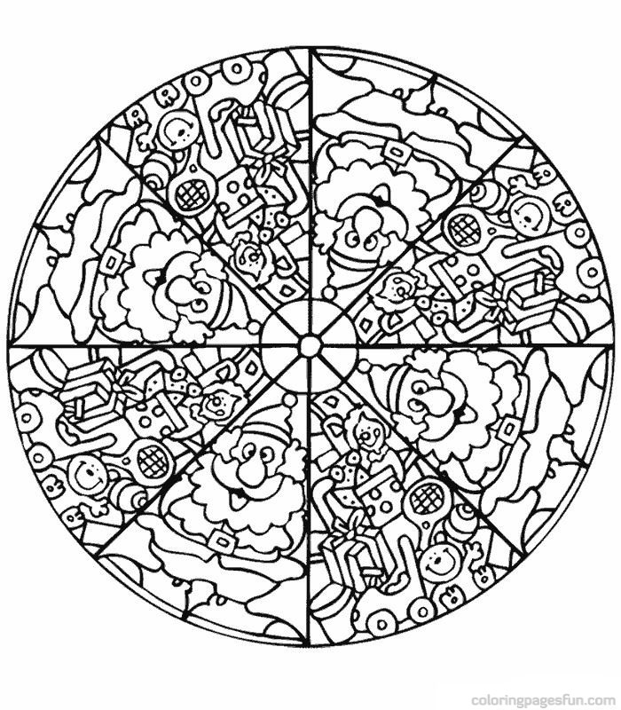 Free Printable Mandalas for Kids - Best Coloring Pages For ... | free online printable mandala coloring pages