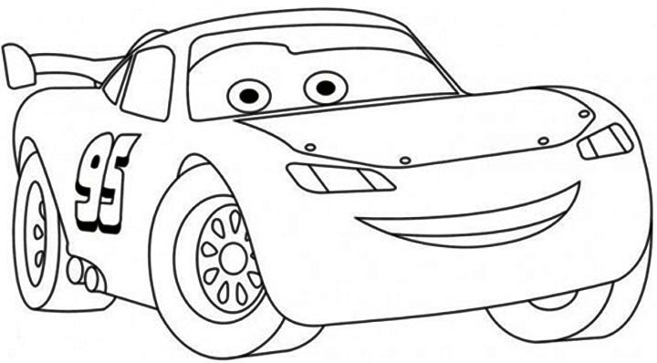 Free Printable Lightning Mcqueen Coloring Pages For Kids Cars Coloring Pages