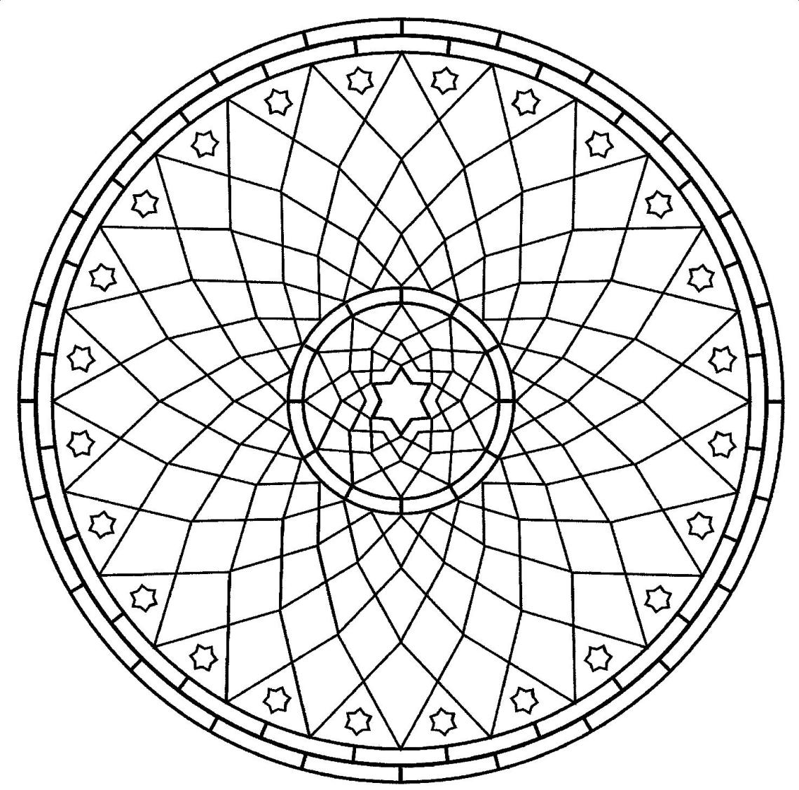 Free Printable Mandalas for Kids - Best Coloring Pages For ... | free printable coloring sheets mandalas