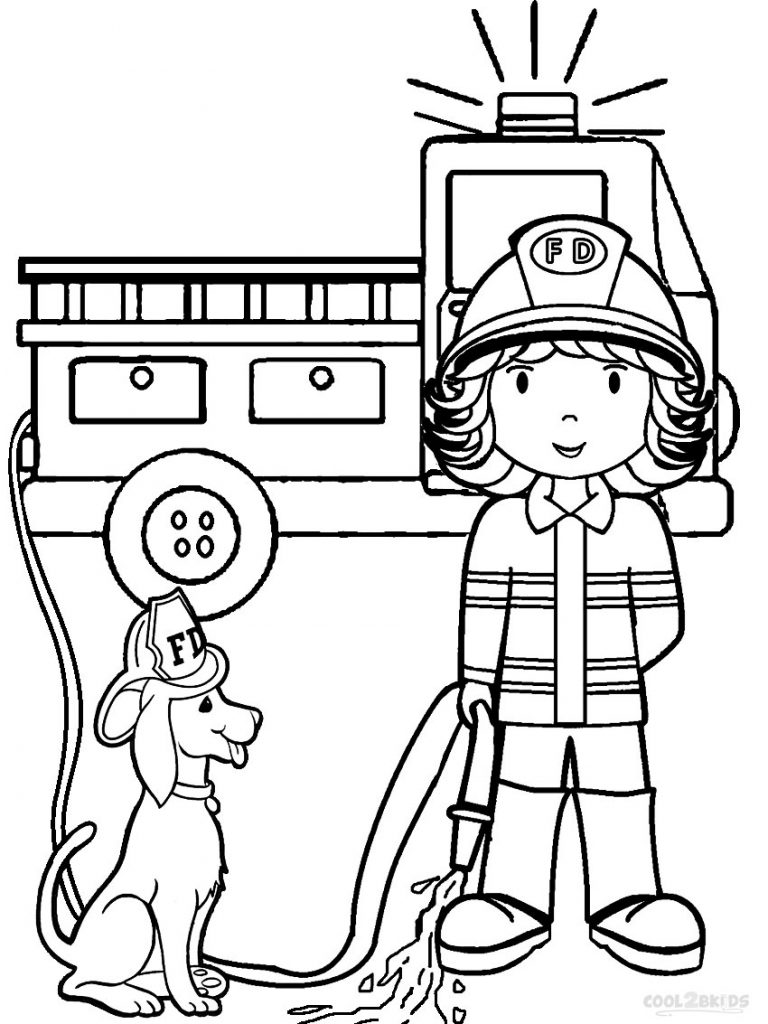 Free Printable Preschool Coloring Pages - Best Coloring ... | coloring pages for kindergarten