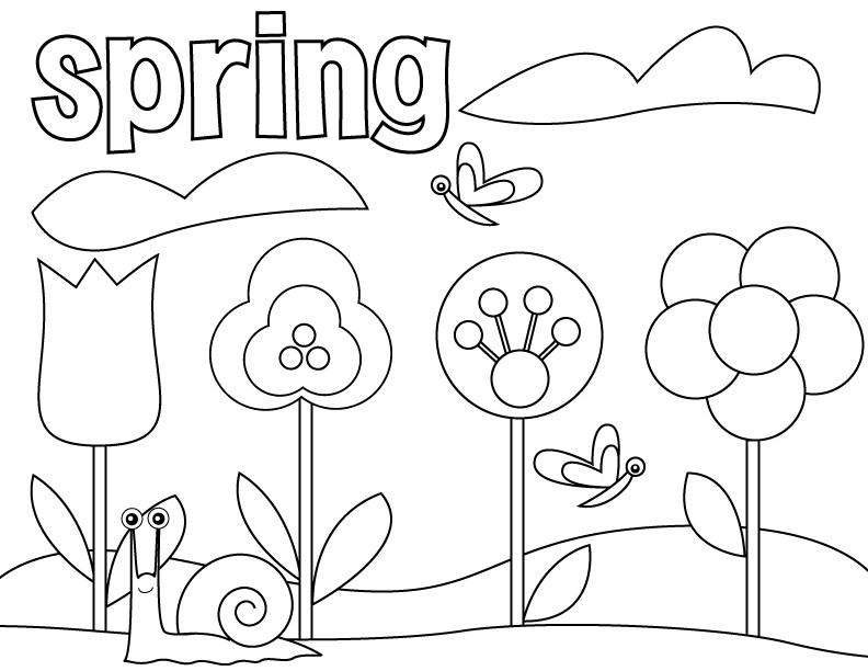 coloring pages preschool druntk