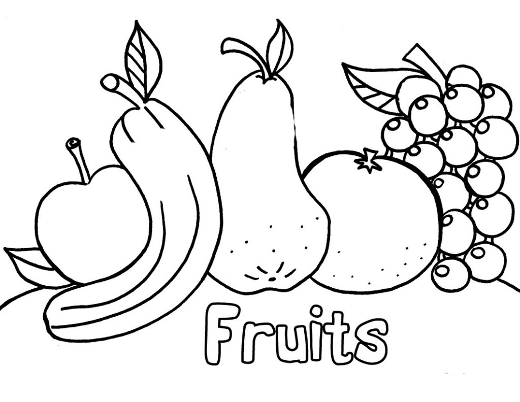 Free Printable Preschool Coloring Pages - Best Coloring ... | printable coloring book for kids.