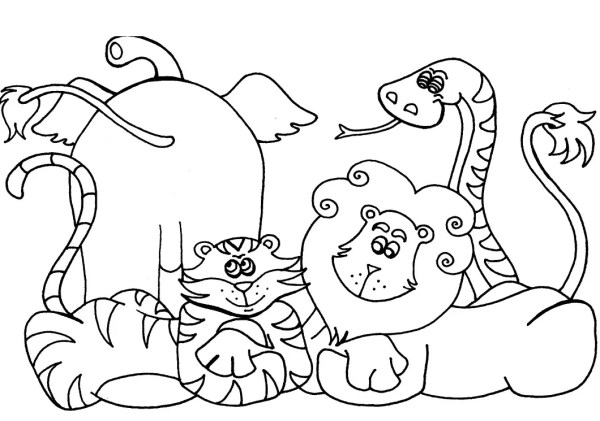 free preschool coloring pages # 4