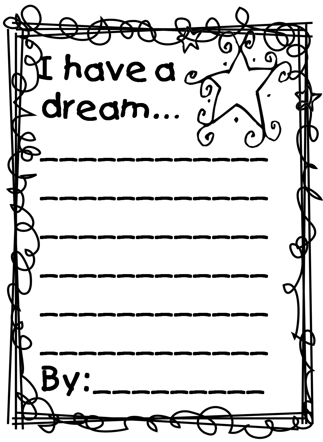 Martin Luther King Jr Worksheet For 2nd Grade