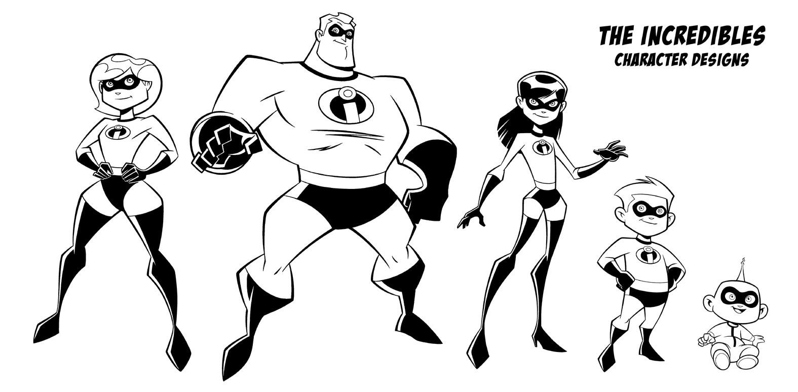 Incredibles Coloring Pages Best Coloring Pages For Kids