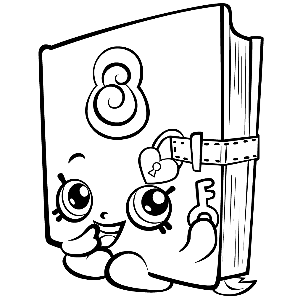 Free Shopkins Coloring Pages To Print Free Shopkins Printables