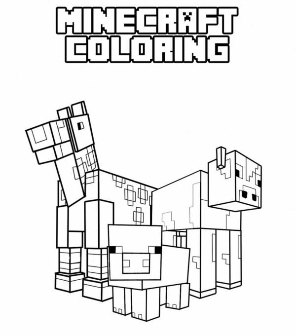 minecraft color page # 17