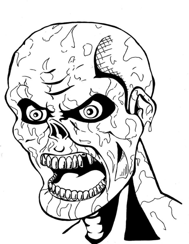 Scary Coloring Pages - Best Coloring Pages For Kids