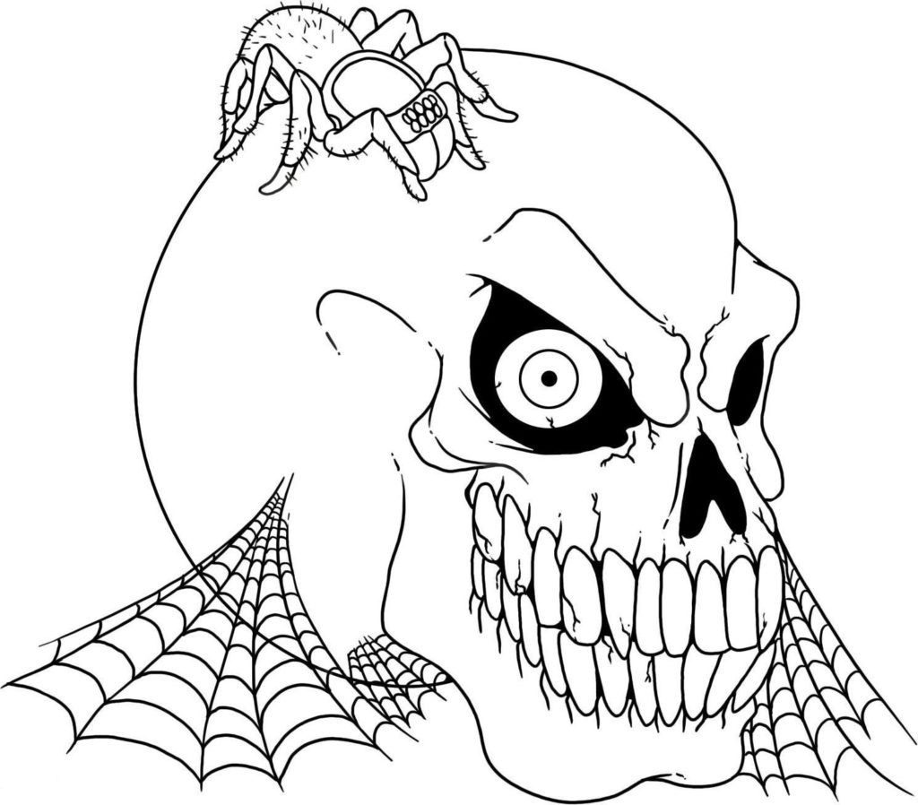 The Nightmare Before Christmas Pumpkin Stencil Printable Large