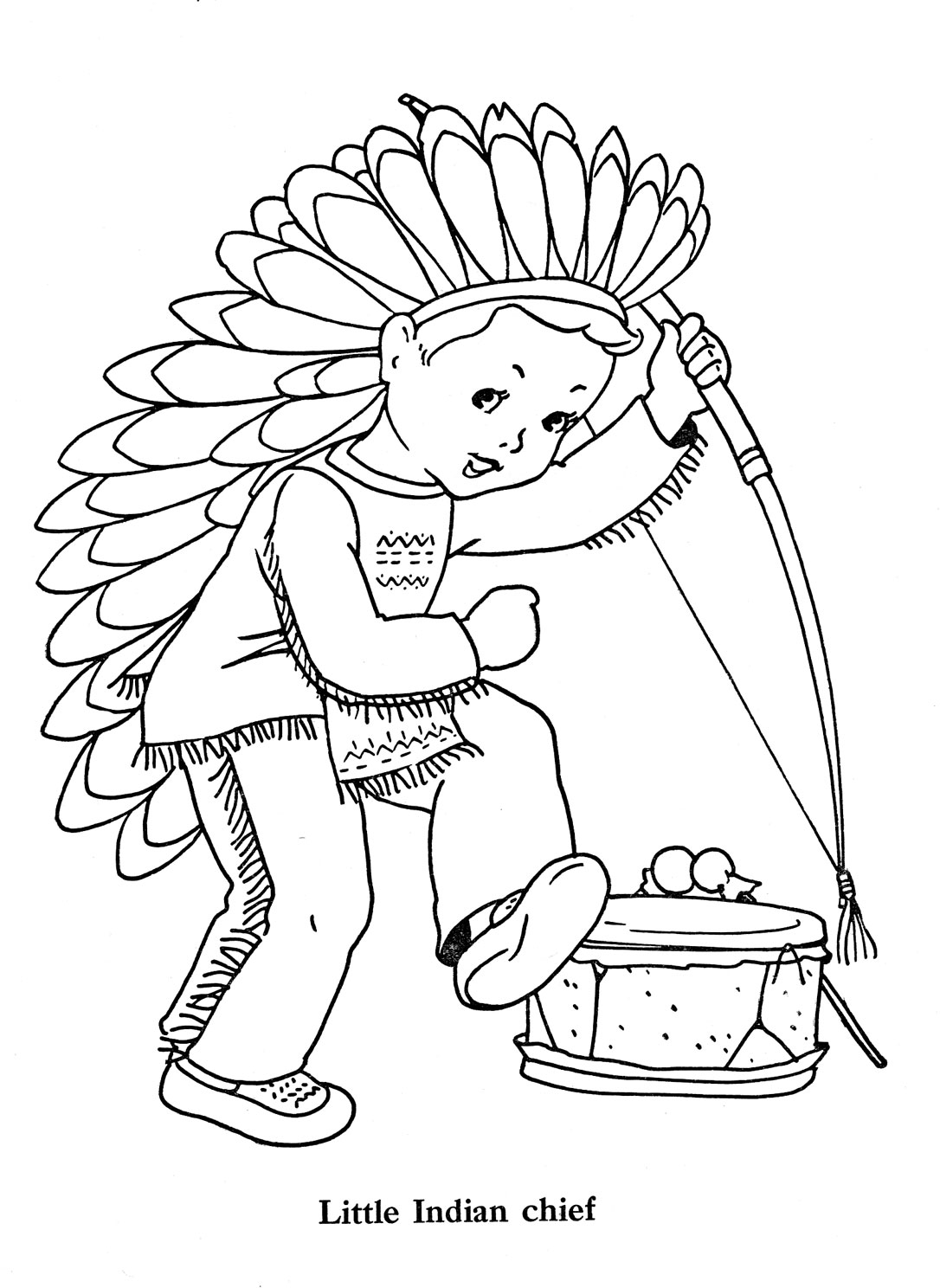 Native American Indian Worksheet