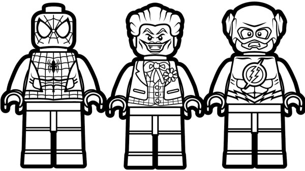 coloring pages lego # 14