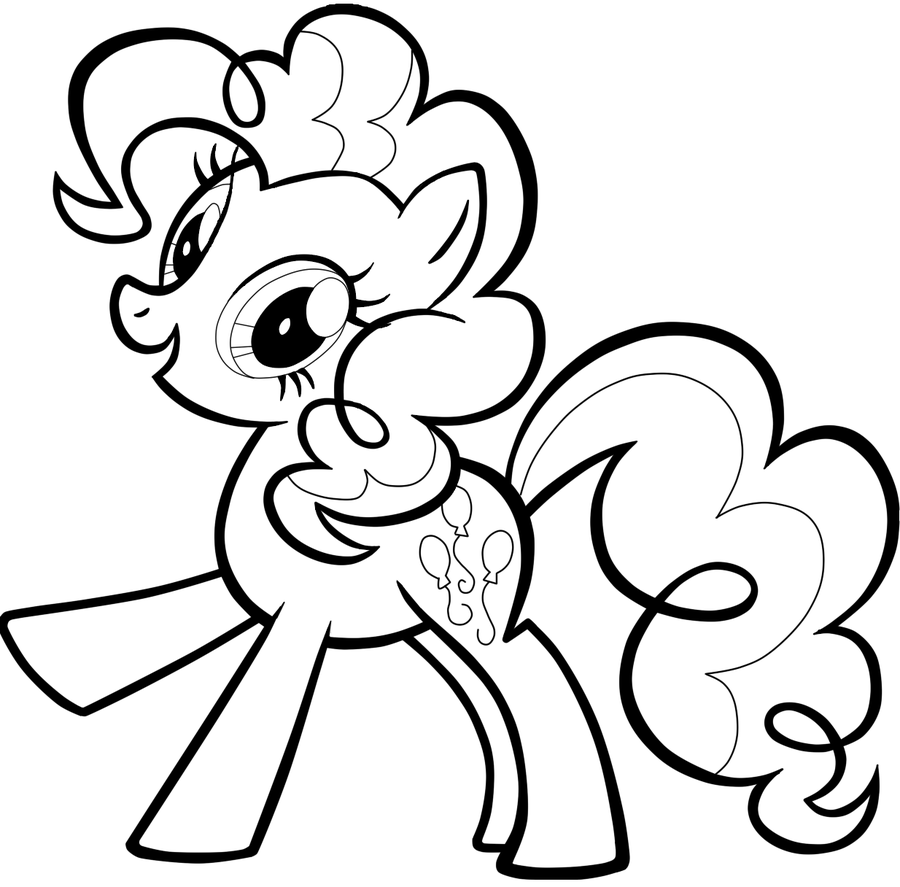 Pinkie Pie Coloring Pages Best Coloring Pages For Kids
