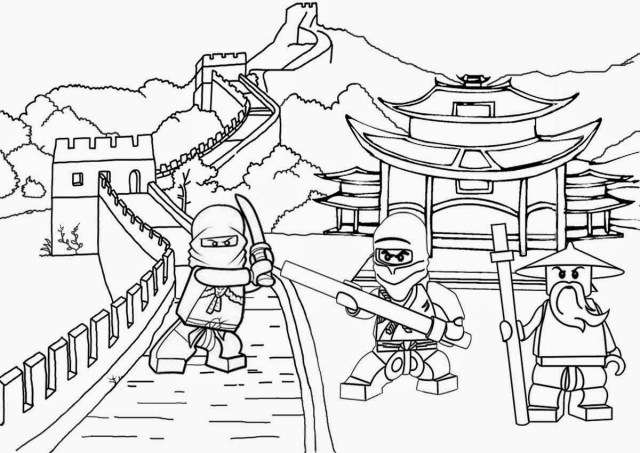 24 best ideas for coloring  Lego Christmas Coloring Pages