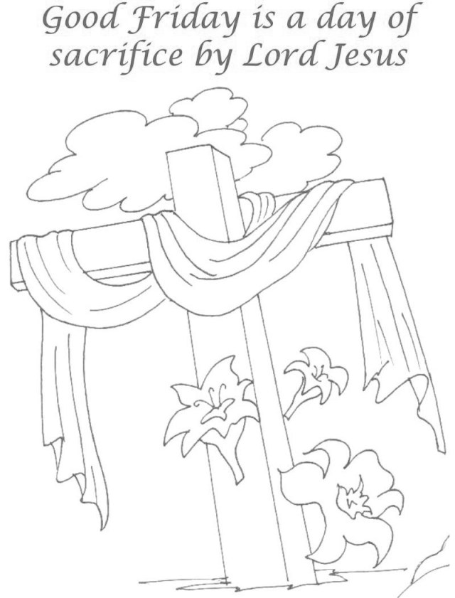 Good Friday Coloring Pages - Best Coloring Pages For Kids