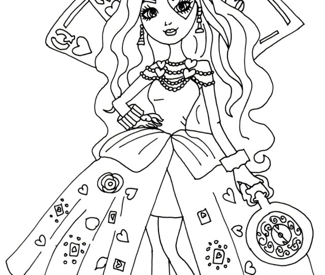 Ever After High Coloring Pages Best Coloring Pages For Kids