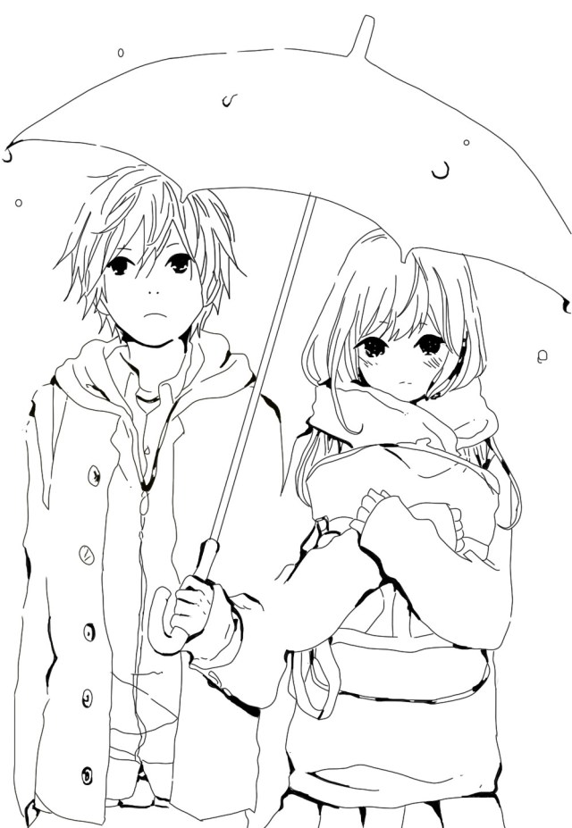 Anime Coloring Pages - Best Coloring Pages For Kids