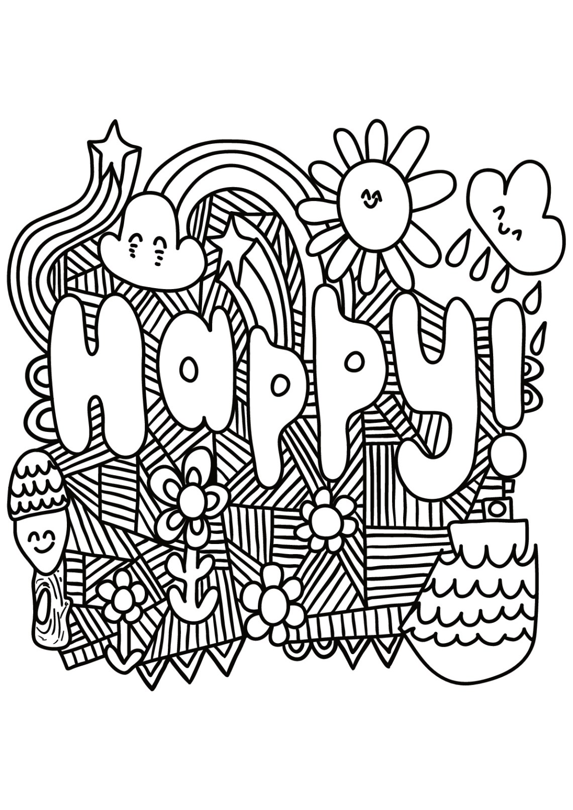 Quote Coloring Pages for Adults and Teens - Best Coloring ... | free printable colouring pages quotes