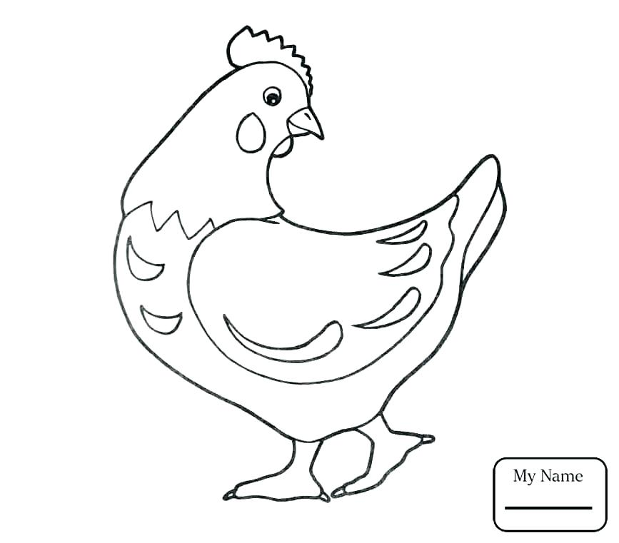 Chicken Coloring Pages Best Coloring Pages For Kids