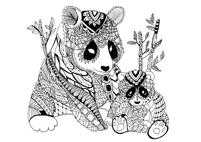 Panda Coloring Pages - Best Coloring Pages For Kids